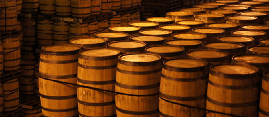 A Smith Bowman Distillery Bourbon Barrels